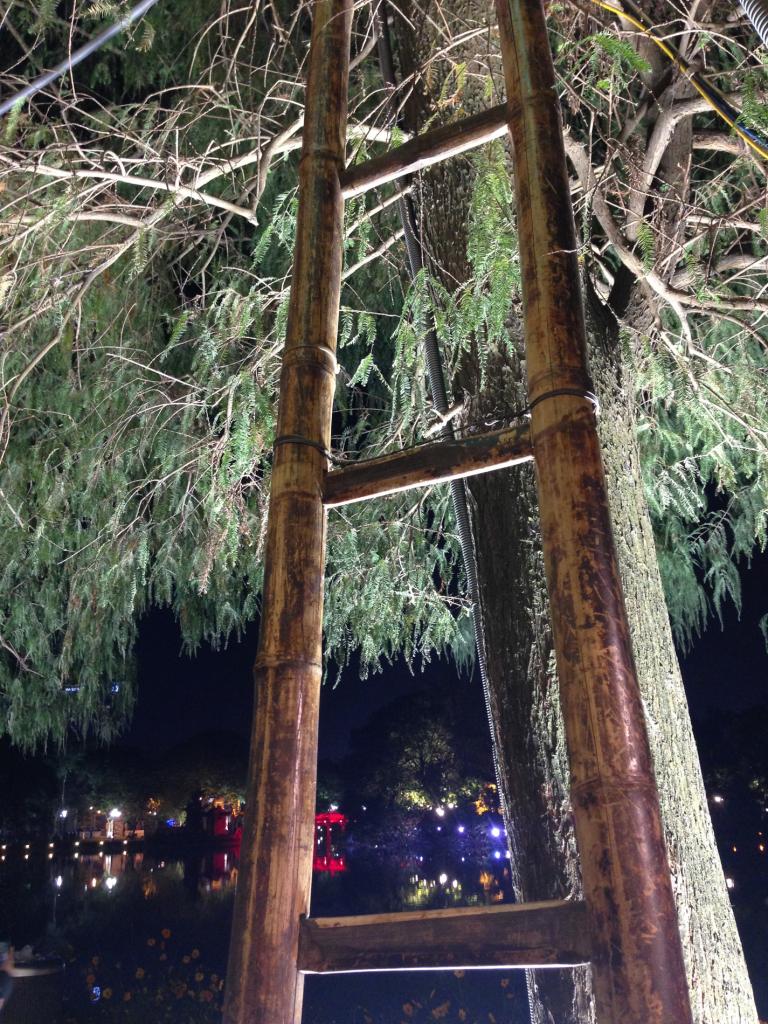 Další bambusový žebřík (Hanoi)