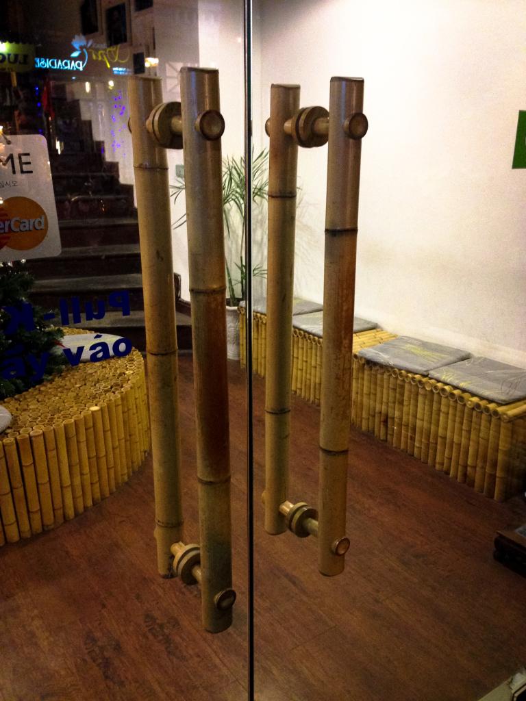 Držadla z bambusu